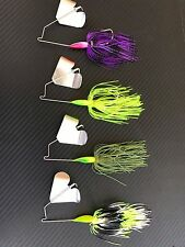 4X 1/2oz Buzzbaits Spinnerbaits Fishing Lures Freshwater Spinners Baits Buzz