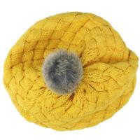 Winter Baby Beanie Hat Cap Warm Cute Kids Girls Toddler Knitted Crochet