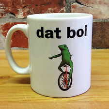NEW DAT BOI 11oz GIFT MUG CUP GREEN FROG PRESENT DANK MEMES FUNNY WADDUP