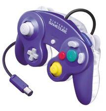 [Used] Nintedo GameCube Dedicated Controller Violet & Clear Free Ship Purple
