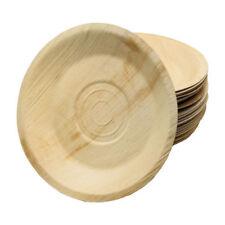 Palmblatt Teller rund 22cm,  25mm Tiefe, 100 Stück,  Party, kompostierbar,