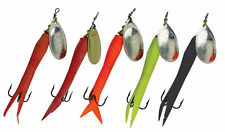 Mepps Flying C Spinners All Types Available Argent / Chartreuse 15 G