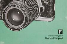 CANON EOS 500n / 500n QD  Mode d'emploi en Français (Manual FR)