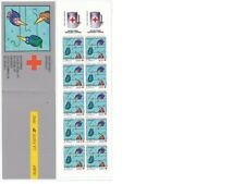 TIMBRE STAMP ZEGEL FRANCE CROIX ROUGE RED CROSS CARNET 2041  XX