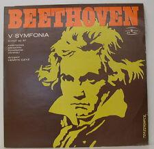 """BEETHOVEN V SYMFONIA SYMPHONY NO. 5 LODZ HENRYK CZYZ 12"""" LP (e20)"""