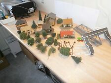 OO GAUGE BUILDINGS TREES SCENICS JOB LOT