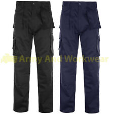 Pro Work Trouser Trade Multi Tool Pocket Durable Triple Stitched Workwear Pants