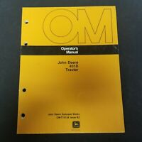 John Deere 401D Tractor Operator's Manual OM-T74124 Issue B3