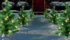 Premier Christmas Indoor Outdoor LED Tree Path Lights - 6 Piece - Warm White