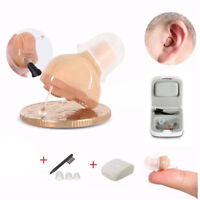 Invisible Hearing Aids Small In Ear Inner Best Sound Amplifier Adjustable Tone