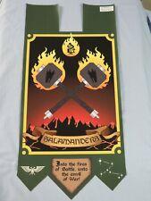 Warhammer 40K Salamanders 2nd Co small banner