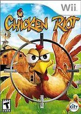 Chicken Riot - Nintendo Wii, Good Video Games