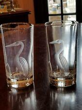 Highballs cut herons set of 2 bird reeds
