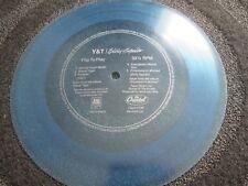 Y & T / Billy Squier A&M Records AMLH 64910 BLUE 7inch Flexi- Single