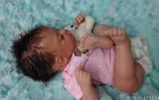 Reborn baby girl Penny full limbs cloth body COA with  tummy plate