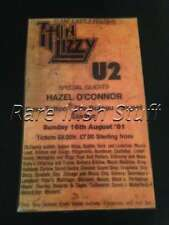 1981 Slane Castle Concert Poster - Thin Lizzy & U2, Meath, Ireland Irish Print