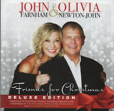 JOHN FARNHAM & OLIVIA NEWTON-JOHN - Friends for Christmas (Deluxe edition) - CD
