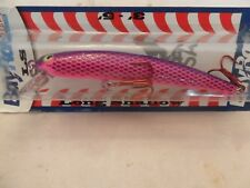 """Bay Rat Lures Long Shallow Minnow Sweet Lips 4 1/8"""" New In The Package B7"""