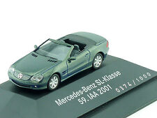 Herpa B6 696 1325 MB Mercedes SL 500 R 230 Cabrio 59.IAA 2001 PC OVP 1411-17-20