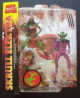 MARVEL SELECT SKRULL ELEKTRA ACTION FIGURE 20 CM NUOVO NEW!! COMICON EXCLUSIVE