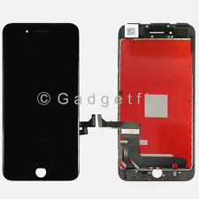 Black iPhone 7 Plus LCD Screen Touch Digitizer Display Lens Assembly Replacement