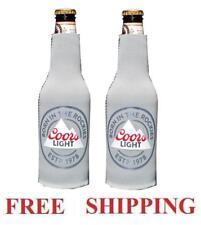 Coors Light The Rockies 2 Beer Bottle Koozie Huggie Coolie Coozie Cooler New