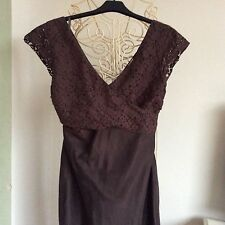 Edina Ronay London, Brown Dress . Size 12