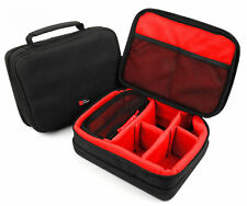 Protective EVA Portable Bag / Case (in Red) for Contour Roam 3 - by DURAGADGET