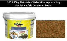 tablets Wafer Mix Tetra, For fish Catfish, Corydoras, Botias, tablets sink Crabs
