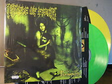 "Cradle Of Filth ""Thornography"" - 2lp-phasedepleinecapacitéopérationnelle-YELLOW & GREEN VINYL"