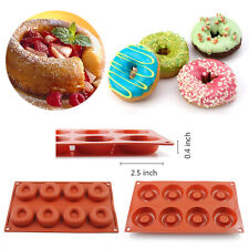 Savarin Donut Cake Pan Non-Stick Silicone Soap Ice Mold Cupcake Liners Bakeware