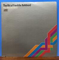 Art of Freddie Hubbard Atlantic🔥'73 1st PR GF 2LP Jazz Vinyl LP⭐️RVG SD 2-314