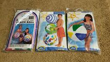 "Intex 24"" Rare Inflatable Beach Ball Lot"
