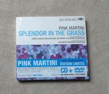 "CD AUDIO DISQUE / PINK MARTINI ""SPLENDOR IN THE GRASS "" CD ALBUM & DVD 2009 NEUF"