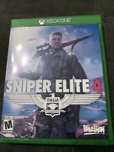 Sniper Elite 4 (Xbox One, 2017) Tested and Working - Ships Fast!