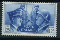 Italien Königreich 1941 Sass. 457 Postfrisch ** 100% Armee-Bruderschaft Hitler