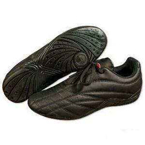 Pro Force Unisex Black Sneaker Kickboxing Lightweight Martial Arts Kung Fu Shoe