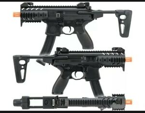 SIG Sauer SIG AIR MPX / P226 Airsoft Spring Powered PDW and Pistol Kit black