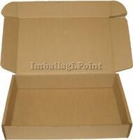 10 Stück Boxen von Karton Verpackung platt 48x41x5cm gestanzte weiß
