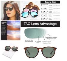 1de80004647 GAMMA RAY Polarized UV400 Vintage Retro Round Thin Style Sunglasses - Olive  Lens