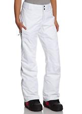 Columbia Womens White Bugaboo Waterproof Pant 13885 Sz Small SHORT