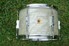 "1967 Ludwig CLUB DATE 12"" WHITE MARINE PEARL TOM TOM for YOUR DRUM SET! #Z927"