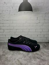 PUMA Womens Etoile Suede 2 Black/Prism Violet/Lavendula Size 10
