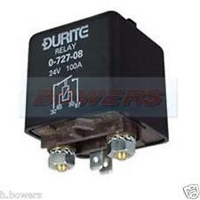 DURITE 0-727-18 EXTRA HEAVY DUTY MAKE BREAK RELAY 12V VOLT 120A AMP