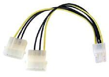 2 Molex a 6 pin PCI Express PCI-E Scheda Grafica Cavo Di Alimentazione Adattatore