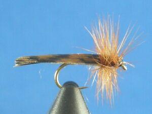 1 dozen King River Caddis Tan #14, Dry Flies, Trout, NR
