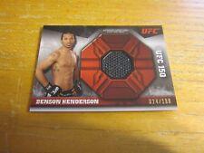Benson Henderson 2013 Topps UFC Knockout Fight Mat Relics #FMRBH #'d 024/188 MMA