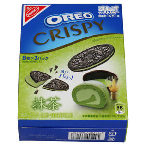 OREO Crispy Matcha Roll Cake 154 g aus China/Asien *RAR/SELTEN* Versand aus DE