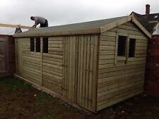 20x10 Ultimate 19mm APEX  Shed/Workshop Tanalised Free Fitting!!!
