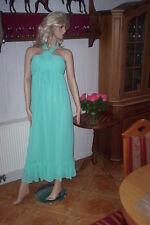 Ausverkauf Damen Kleid Gr.40 Edel Türkis Lang Abendkleid Party NEU Hochzeit